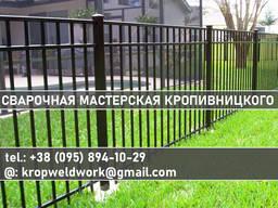 """Забор металлический """"под ключ"""""""