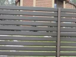 Забор металлический (Ранчо)