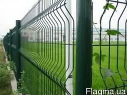 Забор, ограждение, 3D забор, забор из сетки, заборные панели