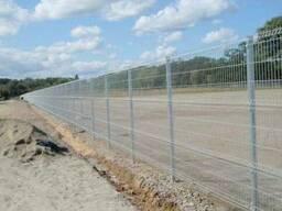 Забор сварной секционный Рубеж 2, 5*2, 4