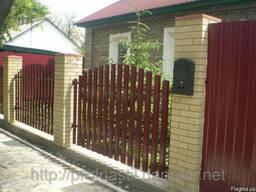 Забор, ворота, калитки из штакета