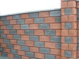 Заборные блоки крышки парапеты. - фото 4