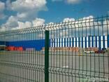 Заборные секции из сварной сетки - фото 1