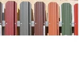 Заборы из металлического штакетника, купить, цена