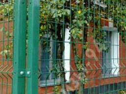 Заборы из сетки сварной (оцинкованные с ПВХ покрытием)