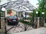 Заборы, калитки, ворота, тамбуры, оградки, перила, лестницы - photo 8