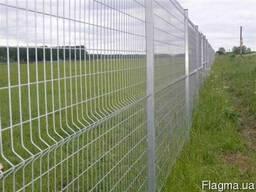 Заборы панельные (секционные) из сварной сетки - фото 3