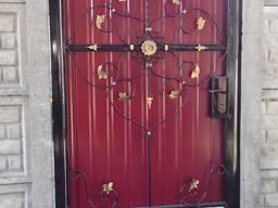 Калитки заборы ворота решетки навесы