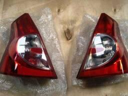 Задний фонарь Renault Sandero фонарь Рено Сандеро с 08 по 13