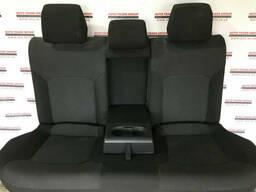 Задний ряд сидений (2 ряд) (черный тряпка) VW Passat B7 USA 2012-2015 561-885-405-AK-X0B