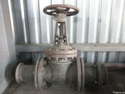 Задвижка топливная с нержавеющей стали Ду150, ру16.