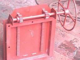 Задвижки реечные с ручным и электроприводом