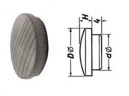 Заглушка мебельная Ø 12мм (Тип 5 Шашель Вуд)