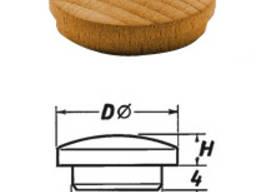 Заглушка мебельная Ø 8мм (Тип 5)