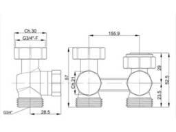 "Заглушка SD Forte 2"" ВР SF35250"