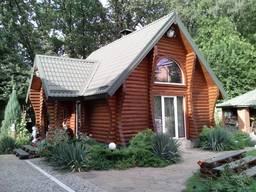 Загородные, деревянные дома из сруба (строительство и ремонт), в Днепре.