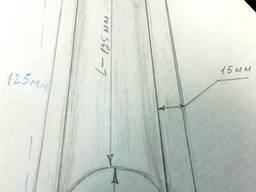 Заготовка штампована або вручну з дюралі 1 мм або 1. 5 мм