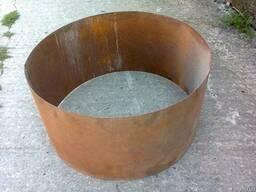 Заготовка средней части ёмкости / груши для бетономешалки.