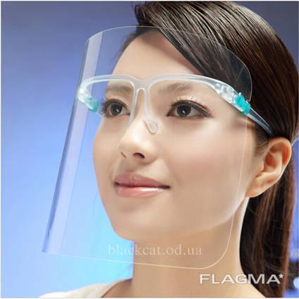 Захисний екран для обличчя (Защитный экран для лица), Щиток