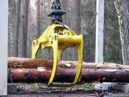 Захват для леса Badestnost тип 130 на экскаватор