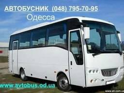 Заказ аренда автобусов на 30-50 мест. г. Одесса