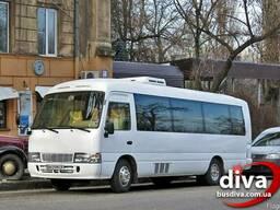 Заказ микроавтобусов Одесса. Автобус 20 мест в аренду.