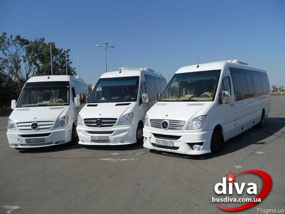 Заказ автобусов Одесса. Автобусы 22 места в аренду.