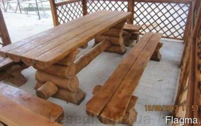 Под заказ беседки, садовый декор, деревянная мебель