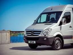 Заказ микроавтобуса Mersedes Sprinter в Европу 20 мест