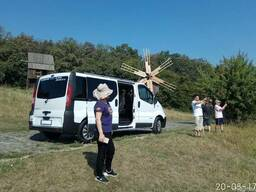 Заказ микроавтобуса с водителем 8 пас. мест.