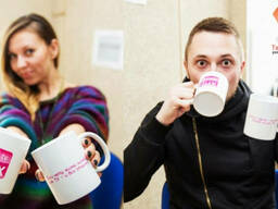 Заказать чашки с логотипом в Днепродзержинске