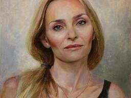 Заказать портрет маслом в Киеве, заказать портрет с фото.