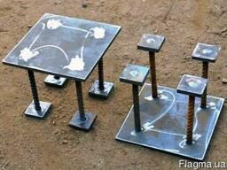 Закладные конструкции, металлоизделия