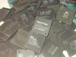 Закупаем:Электронные чипы,микросхемы,процессоры мосты
