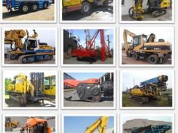 Закупка и доставка сваебойного, карьерного и строительного оборудования под заказ из стран