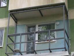Замена Балконной Плиты/Рамы/Крыши/Окон