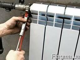 Замена батарей отопления - Швидко сервіс