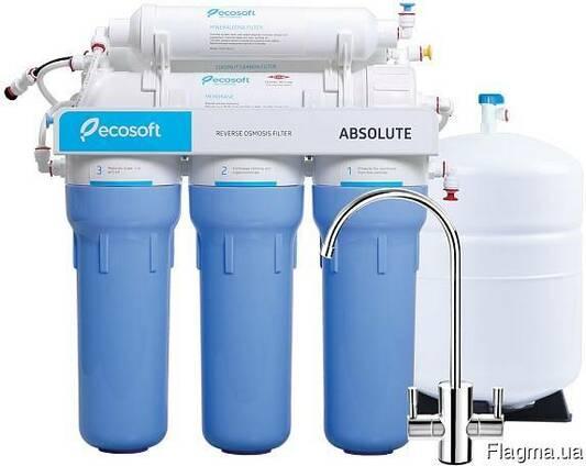 Замена фильтров воды установка фильтров