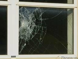 Замена разбитого стекла в окне Харьков