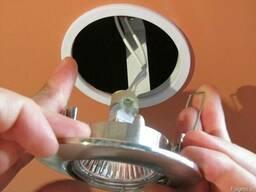 Замена трансформаторов освещения для галогеновых ламп