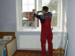 Замена уплотнителя окна ремонт, регулировка