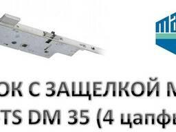 Замок дверной реечный c защёлкой Мaco Z-TS DM-35.