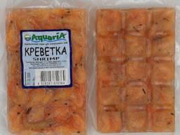 Замороженный корм для рыб Креветка.