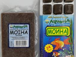 Замороженный корм для рыб Моина.