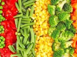Замороженные овощи (почти все виды)