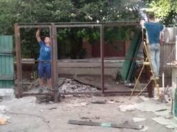 Делаем заборы ворота из профнастила профлиста в Донецке - фото 3