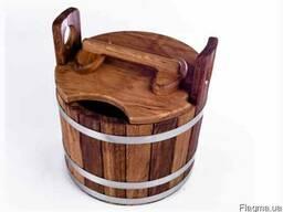 Запарник для бани 15л из дуба