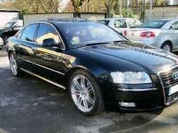 Запчасти б/у новые Audi Ауди A8 4H 2009 Разборка Крыло Ляда
