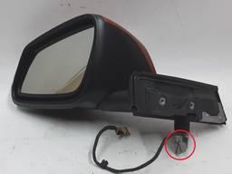 Запчасти БМВ I3. Зеркало наружное левое с обогревом с повреждением BMW I3 51167409077 5116
