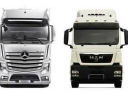 Запчасти Daf, Man, Mercedes, Volvo, Iveco, Renault, Scania